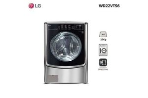 Lavasecarropas LG Frontal WD22VTS6 22 kg en Tienda Inglesa