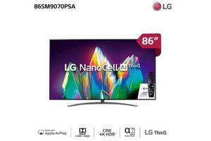 """Tv LG 86"""" Smart NanoCell Control por Voz y Movimiento en Tienda Inglesa"""