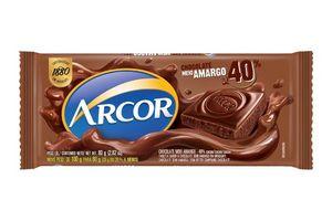 Chocolate Medioamargo ARCOR 80g en Tienda Inglesa