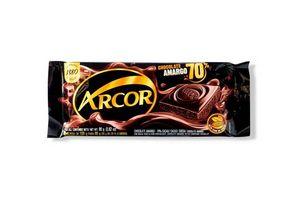 Chocolate Amargo ARCOR  70% 80g en Tienda Inglesa