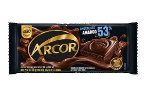 Chocolate Amargo ARCOR 53% 80g en Tienda Inglesa