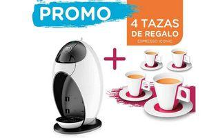 Combo Cafetera Dolce Gusto JOVIA + 4 Tazas de Regalo en Tienda Inglesa