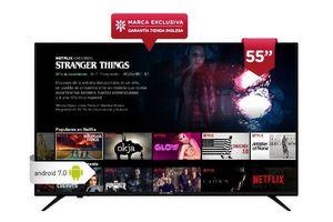 """Smart TV MAKENA 55"""" UHD 4K Android 7.0 ¡Envío Gratis! en Tienda Inglesa"""
