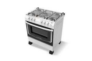 Cocina FUTURA Marylinbla - Blanca 5 Hornallas en Tienda Inglesa
