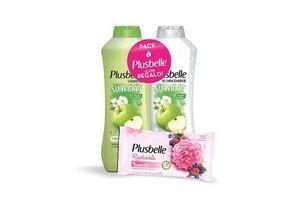 Shampoo PLUSBELLE 1 L Suave + Acondicionador + Jabón en Tienda Inglesa
