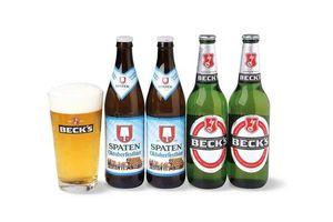 Pack  2 BECKS Ln 500ml + 2 Spaten + Jarra en Tienda Inglesa
