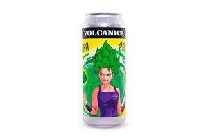 Cerveza VOLCANICA Lata Rubia Apa 500 ml en Tienda Inglesa
