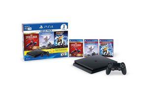 Consola SONY PS4 Slim 1 Tb Mega Pack + 3 Juegos Incluídos + 3 meses de Ps Plus en Tienda Inglesa