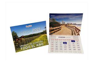 Almanaque  TIENDA INGLESA 2021 en Tienda Inglesa