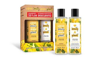 Shampoo LOVE BEAUTY AND PLANET 300 ml + Acondicionador Hope and Repair  300 ml en Tienda Inglesa