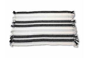 Alfombra 60 x 90 cm Gris / Blanco / Negro en Tienda Inglesa