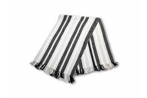 Alfombra 120 x 180 cm Gris / Blanca / Negra en Tienda Inglesa