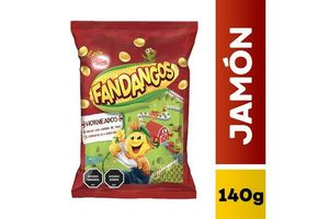 Snack FANDANGOS Jamón 140 gr en Tienda Inglesa