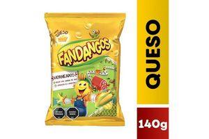 Snack FANDANGOS Queso 140 gr en Tienda Inglesa
