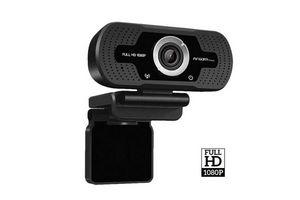 Camara Web ARGOM con Micrófono micro Cam40 FHD 1080p en Tienda Inglesa