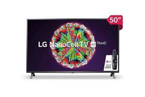 "Smart Tv LG Nanocell 50"" Magic Control Colores Puros en UHD 4K Real en Tienda Inglesa"