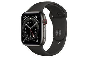 Reloj Inteligente APPLE Watch Series 6 4mm Color Negro en Tienda Inglesa