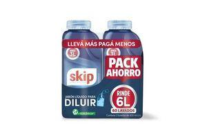 Jabón Liquido SKIP para Diluir 500 ml x 2 Pack Ahorro en Tienda Inglesa
